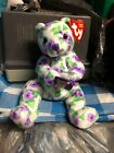 TY Beanie Baby Corsage The  Bear With Tag Retired   DOB: April 12th,, 2003