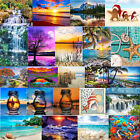 5D DIY Full Drill Diamond Painting Bottle Landscape Cross Stitch Embroidery US