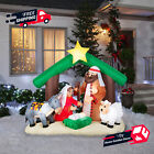 Inflatables Holy Family Nativity Scene Classic Outdoor Christmas Holiday Decor