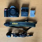 NikonD3000 10.2 MP Digital SLR Camera Body with strap, charger and 2 batteries