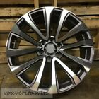22 PLATINUM STYLE GREY MACHINE WHEELS RIMS FITS LEXUS GX 460 470 GX460 GX470