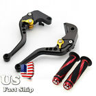 USA Ship Short Brake Clutch Levers Grips Fit Ducati 695 400 796 MONSTER 696 BLK