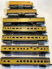 N Scale Union Pacific Engine And 5 Passenger Cars