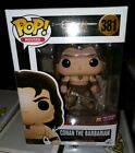 Funko Pop Movies 381 Conan the Barbarian PX Exclusive Bloody Version Box Damage