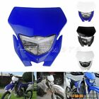 Supermoto Dirt Bike Headlight Fairing For Yamaha WR450F WR250F YZ YZF TTR DR RM