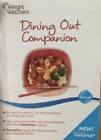 2011 Weight Watchers Dining Out Companion