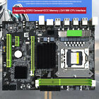 US Stock Motherboard Mainboard For Intel X58 DDR3 LGA 1366 32GB With Audio Chip
