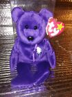 1997 Princess Diana Beanie Baby 1st Edition,in plastic holder..rare/retired new