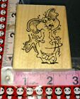 Love crazed mouse anticipations unused 113 woodenrubberstamp