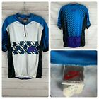 Vintage Nike short sleeve 1 4 zip cycling jersey size mens large