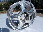 93 98 Toyota Supra Turbo MKIV Front Machined Polished WHEEL 17x8 OEM RIM 5 Spoke