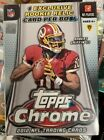 2012 Topps Chrome Football (2x) Blaster Boxes SEALED possible LUCK WILSON RC