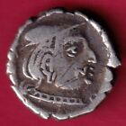 ANCIENT INDIA KSHATRAP DYNASTY KINGS PORTRAIT RARE SILVER COIN DH42