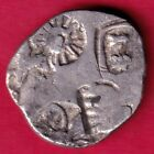 ANCIENT INDIA KING ASHOKA PUNCHMARK RARE SILVER COIN DH44