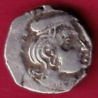 ANCIENT INDIA KSHATRAP DYNASTY KINGS PORTRAIT RARE SILVER COIN DH45