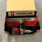 Vintage Cox Texaco .049 Airplane Engine #4506 Special Duration