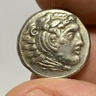 Ancient Greek SILVER COIN DRACHM ALEXANDER THE GREAT 336 323 BC 29gr 184mm