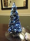 """Lemax Christmas Village Tree with Miniature White LED Lights  12"""""""