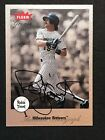 ROBIN YOUNT - 2002 Greats of the Game Autographs - On Card AUTO