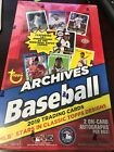 2019 Topps Archives Baseball Hobby Unopened Factory Sealed Box Of Cards