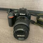 Nikon D5500 242MP Digital SLR Camera w VR II 18 55mm Lens w Bag
