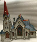Lemax Christmas 1994 Dickensvale Porcelain Lighted Village Church