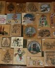 Christmas Large Rubber Stamps
