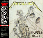 METALLICA, ...AND JUSTICE FOR ALL, 1ST PRESS, CD, 25DP 5178, JAPAN, 1988