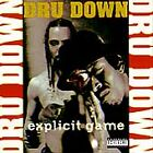 Explicit Game [PA] by Dru Down (CD, 1994, Ruthless Records)