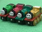 BRIO THOMAS & FRIENDS WOODEN RAILWAY CHARACTERS FOR TRAIN ENGINE SET