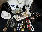 High End Designer Vintage to Now Estate Costume Jewelry Lot