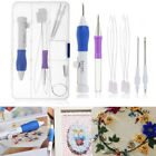 Threaders Stitching ABS Plastic Knitting Sewing Punch Needle Embroidery Pen Set