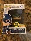 Funko Pop Captain America GITD Hot Topic Exclusive