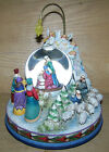 Jim Shore Large Rotating Nativity Blessed Birth Lighted Musical Water Globe