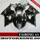 Glossy Black Motorcycle Fairing Bodywork Kit For Suzuki GSXR1000 2003 2004 K3 03
