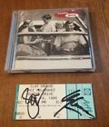 Sunday Drive CD Autograph With Clay Crosse And Jaci Velasquez Auto Ticket Stub