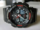 Armbanduhr Casio G-Shock Protection 5081 GA-100 Weltzeituhr analog digital