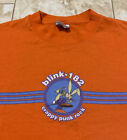 Vintage Blink 182 Crappy Punk Rock T Shirt Size Mens Large