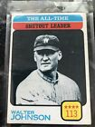 Walter Johnson Cards and Autograph Guide 32