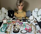 High End Designer Vintage to Now Estate Costume Jewelry Lot Some Signed