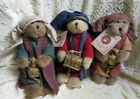 VINTAGE BOYDS BEARS 3 WISE MEN CHRISTMAS NATIVITY PLUSH W TAGS