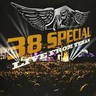 38 SPECIAL— Live From Texas CD **OOP Factory Sealed**
