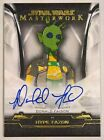 2020 Topps Star Wars Masterwork Trading Cards - Pedro Pascal Autographs 26