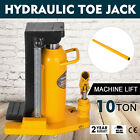 10 Ton Hydraulic Toe Jack Machine Lift Cylinder Industrial Equipment Tool