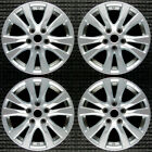 Set 2014 2015 2016 2017 2018 Nissan Altima OEM Factory Silver Wheels Rims 62718