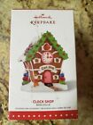 2015 HALLMARK ORNAMENT NOELVILLE CLOCK SHOP #10 AND FINAL IN THE SERIES