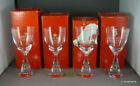 4 x HOLMEGAARD Denmark 4oz PRINCESS Wine Glasses Mid Century Danish Design