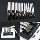 12PCS Leather Oval Hole Punch Kit Cutter DIY Watch Belt Band Gasket Hollow Tool