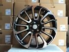 20 BLACK MACHINE WHEELS RIMS FITS RANGE ROVER SPORT LAND ROVER DISCOVERY SPORT