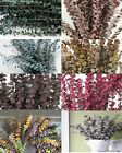 Preserved Fragrant Baby Eucalyptus Branches 16 oz Green Blue Yellow Purple